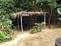 Case d'accueil des visiteurs, Parc des Primates de la Mefou, Mefou, Région du Centre, Cameroun.jpg