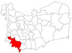 Location of Casimcea