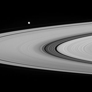 The Cassini Division imaged from the Cassini s...