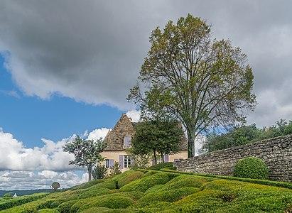 Castle of Marqueyssac, commune of Vézac, Dordogne, France