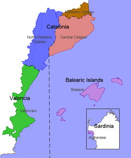 Catalan dialects dialects