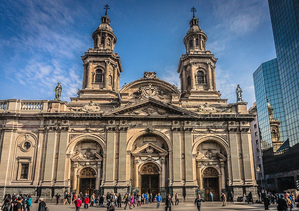 Catedral metropolitana de santiago wikip dia a for Construccion de piscinas santiago chile