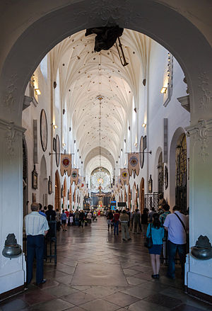 Oliwa Cathedral - Main nave