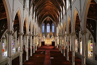 Cathedral of the Holy Cross (Boston) - Image: Cathedral of the Holy Cross, Boston 1