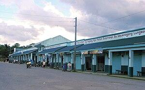 Catigbian, Bohol - Public market