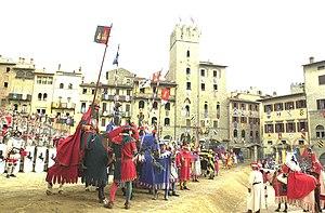 Saracen Joust - Saracen joust of Arezzo