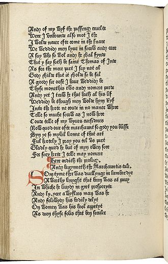William Caxton - Caxton's 1476 edition of Chaucer's Canterbury Tales