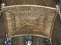 Ceiling of the altar of Saint Mary church in Roncesvalles.jpg