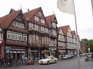 Weser Renaissance - Old town of Celle