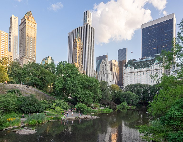 File:Central Park - The Pond (48377220157).jpg