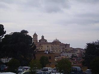 Marino, Lazio - View of the historical centre.