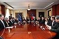 Ceremonia de Deposito del Instrumento de Ratificación al Protocolo Adicional al Tratado Constitutivo de la Unión de Naciones Suramericanas UNASUR. Sobre Compromiso con la Democracia por Parte de la República de Chile (6836539244).jpg