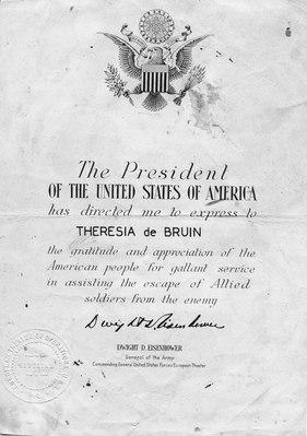 Certificate of appreciation for Theresia de Bruin 2.tif