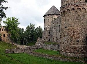 Cēsis Castle - Image: Cesis Burg