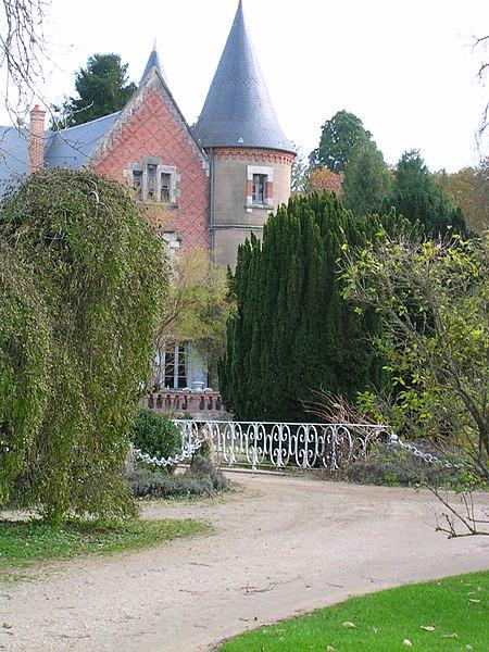 Château Arboretum de Balaine (VILLENEUVE-sur-ALLIER,FR03)