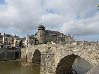 Mayenne - Image: Château de Laval 43