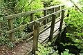 Chagford, footbridge over the White Water - geograph.org.uk - 2090860.jpg