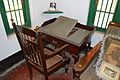 Chair and Desk - Study - First Floor West - House of Sarat Chandra Chattopadhyay - Samtaber - Howrah 2014-10-19 9840.JPG