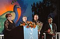 Chairperson of the Jury Marta Meszaros of Hungary addressing at the closing ceremony of IFFI 2007 on December 03, 2007 at Panaji, Goa.Other jury members are also seen.jpg