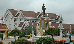 Phraya Lae Monument, Chaiyaphum City Hall