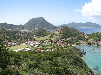 Dependencies of Guadeloupe - Marigot bay (Terre-de-Haut)les Saintes