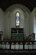File:Chancel and altar of Syde Church - geograph.org.uk - 584548.jpg