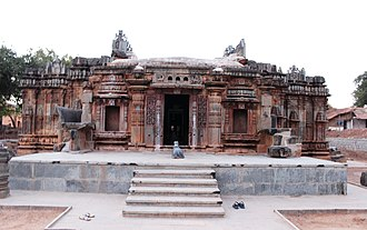 Chandramouleshwara Temple - Chandramouleshwara temple entrance