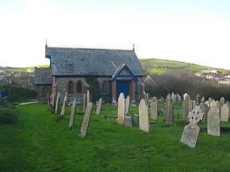 Millbrook, Cornwall - The chapel of rest at Millbrook cemetery