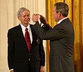 Charles David Keeling & GW Bush 2001.jpg