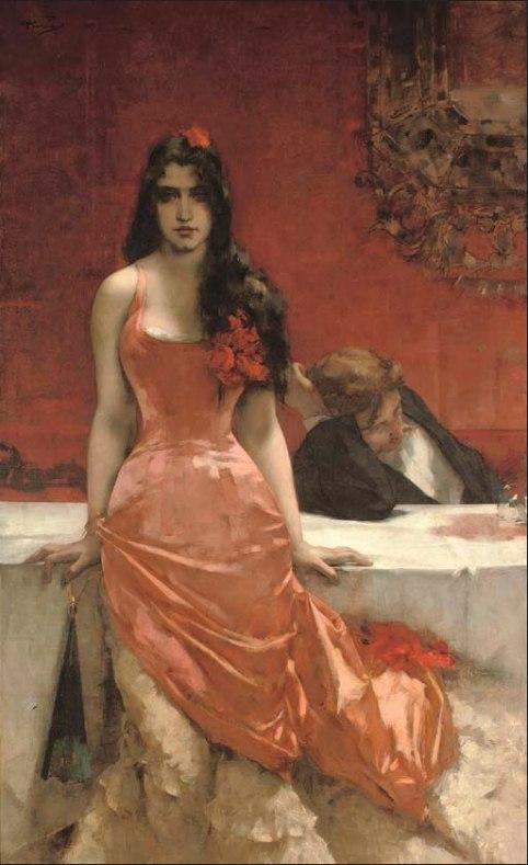 Charles Hermans - Circe the temptress