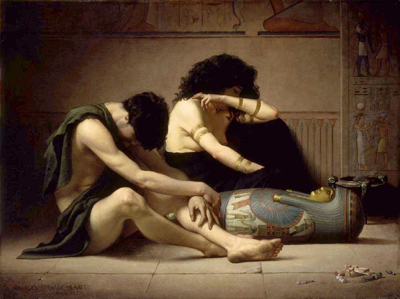 Чарльз Спрэйг Пирс - Скорби по поводу смерти Первенца Egypt.jpg