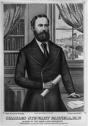 Sir John Parnell, 2nd Baronet - Sir John's great-grandson, the legendary land-reformer Charles Stewart Parnell