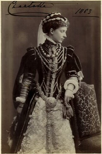 Princess Charlotte of Prussia - Princess Charlotte of Prussia in 1883