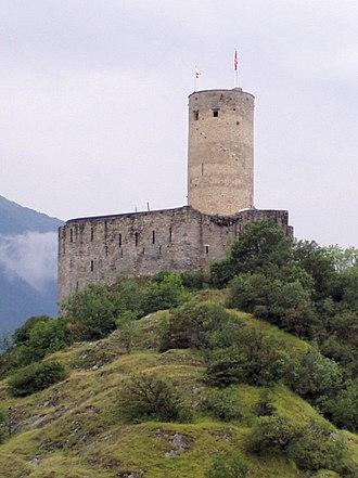 Martigny - Château de la Bâtiaz