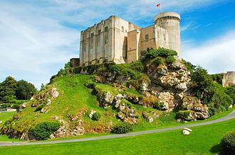 Calvados (department) - Image: Chateau de Falaise 2008