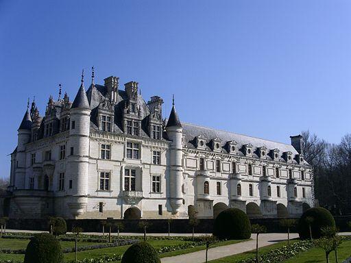 Chateau de chenonceau 2008.02.24