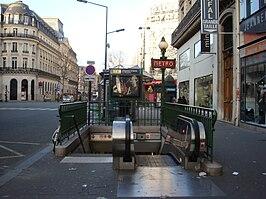 Chaussée d'Antin – La Fayette (Paris Métro)