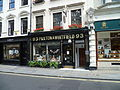 Cheesemonger Paxton & Whitfield on Jermyn Street in London.JPG