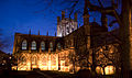 Chester Cathedral at dusk.jpg
