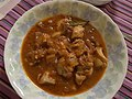 Chicken cooked with tomato sauce (4550246137).jpg