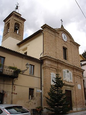 Serrapetrona - Church of Santa Maria.