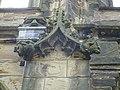 Chimeras at St Mary's Church, Mold - yr Wyddgrug, Wales 16.jpg