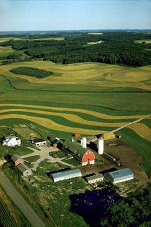 Chippewa County, Wisconsin - A farm in Chippewa county