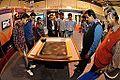 Chladni Pattern - Interactive Science Exhibition - NCSM Stall - Infocom 2014 - Kolkata 2014-12-06 1049.JPG