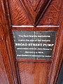 Cholera historic pump sign - John Snow.jpg