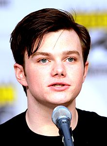 Chris Colfer--Comic Con 2010 cropped.jpg