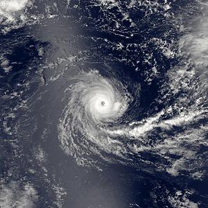1981–82 South-West Indian Ocean cyclone season - Image: Chris jan 13 1982 0950Z