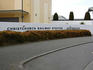 Christchurch Railway Station (New Zealand) - Image: Christchurch railway station 02