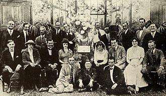 Christie Film Company - Al Christie's troupe, circa 1916.