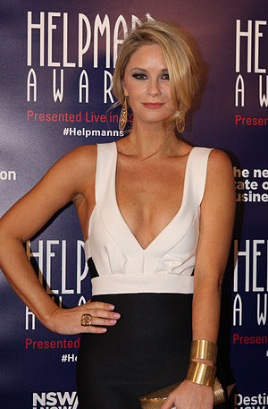 Christie Whelan Browne - Whelan-Browne at the 2015 Helpmann Awards